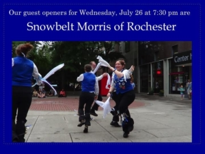 Free Shakespeare: Morris Dancing! @ Highland Park