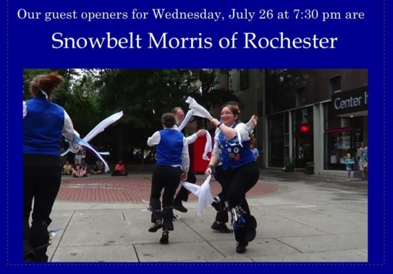 Free Shakespeare: Morris Dancing!